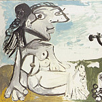 1967 Laubade 1, Pablo Picasso (1881-1973) Period of creation: 1962-1973