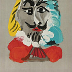 1969 TИte dhomme 11, Pablo Picasso (1881-1973) Period of creation: 1962-1973