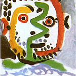 Pablo Picasso (1881-1973) Period of creation: 1962-1973 - 1964 TИte dhomme 9