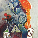 1970 Buste de matador, Pablo Picasso (1881-1973) Period of creation: 1962-1973