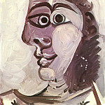 1971 TИte de femme 2, Pablo Picasso (1881-1973) Period of creation: 1962-1973