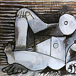 1969 Nu allongВ, Pablo Picasso (1881-1973) Period of creation: 1962-1973