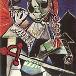 1970 Le matador au cigare, Pablo Picasso (1881-1973) Period of creation: 1962-1973