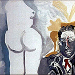 1965 Personnages, Pablo Picasso (1881-1973) Period of creation: 1962-1973