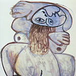 1971 Nu accroupi, Pablo Picasso (1881-1973) Period of creation: 1962-1973