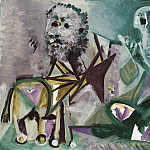 1972 Homme assis et centaure, Pablo Picasso (1881-1973) Period of creation: 1962-1973