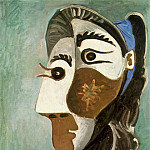 1962 TИte de femme 6, Pablo Picasso (1881-1973) Period of creation: 1962-1973