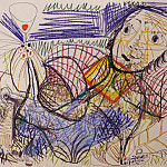 1969 Homme Е la coupe, Pablo Picasso (1881-1973) Period of creation: 1962-1973