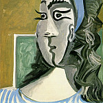 1962 TИte de femme I, Pablo Picasso (1881-1973) Period of creation: 1962-1973