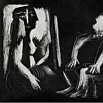 Pablo Picasso (1881-1973) Period of creation: 1962-1973 - 1963 IntВrieur