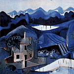 Pablo Picasso (1881-1973) Period of creation: 1962-1973 - 1963 Paysage Е Mougins