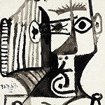 1967 Buste de femme, Pablo Picasso (1881-1973) Period of creation: 1962-1973