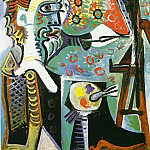 Pablo Picasso (1881-1973) Period of creation: 1962-1973 - 1963 Le peintre III