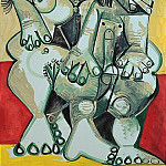 1968 Homme et femme nus, Pablo Picasso (1881-1973) Period of creation: 1962-1973