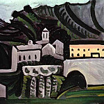 1972 Vauvenargues, Pablo Picasso (1881-1973) Period of creation: 1962-1973