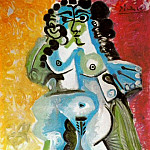 1965 Femme nue assise, Pablo Picasso (1881-1973) Period of creation: 1962-1973