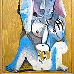1969 Femme accroupie, Pablo Picasso (1881-1973) Period of creation: 1962-1973