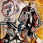 1969 Grandes tИtes, Pablo Picasso (1881-1973) Period of creation: 1962-1973