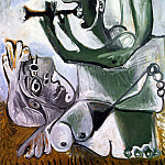 1967 Laubade 2, Pablo Picasso (1881-1973) Period of creation: 1962-1973