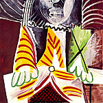 1969 Homme assis 3, Pablo Picasso (1881-1973) Period of creation: 1962-1973