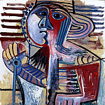 Pablo Picasso (1881-1973) Period of creation: 1962-1973 - 1971 Enfant [Personnage Е la pelle]