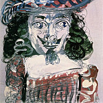 1967 Mousquetaire- buste 1, Pablo Picasso (1881-1973) Period of creation: 1962-1973