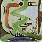 Pablo Picasso (1881-1973) Period of creation: 1962-1973 - 1964 TИte dhomme II
