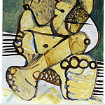 1972 Femme, Pablo Picasso (1881-1973) Period of creation: 1962-1973