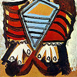 1969 Homme assis 1, Pablo Picasso (1881-1973) Period of creation: 1962-1973