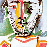 1964 TИte dhomme 5, Pablo Picasso (1881-1973) Period of creation: 1962-1973