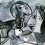 1969 Couple Е la coupe, Pablo Picasso (1881-1973) Period of creation: 1962-1973