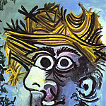 Pablo Picasso (1881-1973) Period of creation: 1962-1973 - 1971 Homme au chapeau