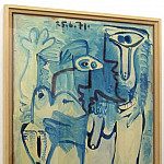 Pablo Picasso (1881-1973) Period of creation: 1962-1973 - 1971 couple