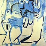 1970 Couple 1, Pablo Picasso (1881-1973) Period of creation: 1962-1973