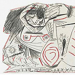 1972 Nu couchВ 1, Pablo Picasso (1881-1973) Period of creation: 1962-1973