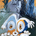 1967 Nu de face, dans lherbe, Pablo Picasso (1881-1973) Period of creation: 1962-1973