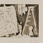 Pablo Picasso (1881-1973) Period of creation: 1962-1973 - 1965 Dans latelier 1