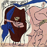 Pablo Picasso (1881-1973) Period of creation: 1962-1973 - 1963 TИte dhomme