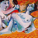 Pablo Picasso (1881-1973) Period of creation: 1962-1973 - 1965 Les deux amies