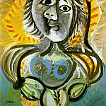 1970 Femme au fauteuil, Pablo Picasso (1881-1973) Period of creation: 1962-1973