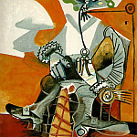 1968 Mousquetaire Е la pipe 1, Pablo Picasso (1881-1973) Period of creation: 1962-1973