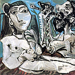 1967 Laubade 3, Pablo Picasso (1881-1973) Period of creation: 1962-1973