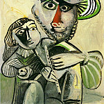 Pablo Picasso (1881-1973) Period of creation: 1962-1973 - 1971 Homme Е la flЦte et enfant (PaternitВ)