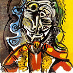 1969 Buste dhomme 4, Pablo Picasso (1881-1973) Period of creation: 1962-1973