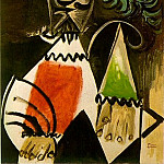 1969 Buste dhomme 5, Pablo Picasso (1881-1973) Period of creation: 1962-1973