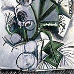 1969 Bouquet de fleurs, Pablo Picasso (1881-1973) Period of creation: 1962-1973
