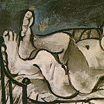 Pablo Picasso (1881-1973) Period of creation: 1962-1973 - 1964 Femme nue couchВe