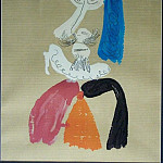 1969 TИte dhomme 7, Pablo Picasso (1881-1973) Period of creation: 1962-1973