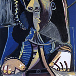 Pablo Picasso (1881-1973) Period of creation: 1962-1973 - 1971 Homme