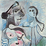 1967 VВnus et Amour, Pablo Picasso (1881-1973) Period of creation: 1962-1973